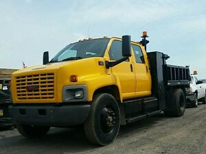 "2005 GMC C7500 CREW CAB DUMP """"""ONLY $49,995"""""" SPECIAL"
