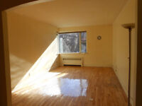 Big (900 sf) 4 ½ condo in CDN, heating and hot water included
