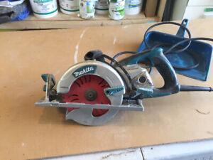 Marita worm drive circular saw