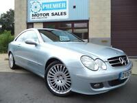 2006 MERCEDES CLK220 2.2 CDI AUTO AVANTGARDE, MERCEDES + 1 OWNER FROM NEW!
