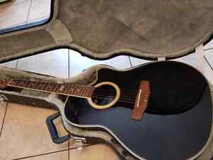 Applause ovation electric acoustic guitar $150