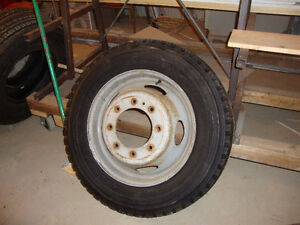 Tire and Rim for Ford F550