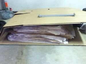Used moving newsprint & boxes