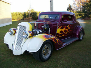 Thirty Four Oldsmobile Three Window Coupe