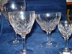 Stuart Crystal stemware - set of 4 glasses ($100 per set)