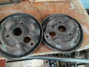 1967 Chevelle backing plates