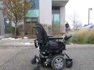 Motorized Wheelchair (2016):  Quantum Edge 2.0