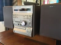 Sony CMT-CP2WA CD, Tuner & Cassette Hi-Fi with 3 Aux inputs