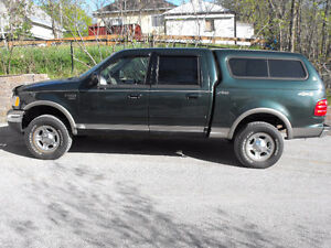 2003 Ford F-150 SuperCrew Lariat Truck--trade for old car