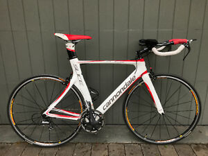 FOR SALE/A VENDRE - 56 CM - CANNONDALE SLICE Hi-MOD 1