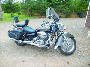 2007 Honda Shadow motorcycle
