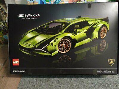 LEGO 42115 Technic Lamborghini Sián FKP 37 - Brand New In Box - Ready To Ship