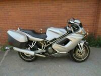2000 DUCATI ST2 SILVER SPORTS TOURER NATIONWIDE DELIVERY AVAILABLE