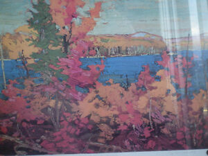 "Tom Thomson - "" Autumn Foliage ""-  Limited Edition Print - Kitchener / Waterloo Kitchener Area image 4"