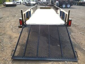 5'x15' Single Axle Utility/ATV Trailer by Miska