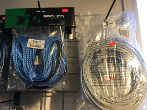 SYNTHETIC AND WIRE WINCH CABLES IN STOCK @ HFX MOTORSPORTS!