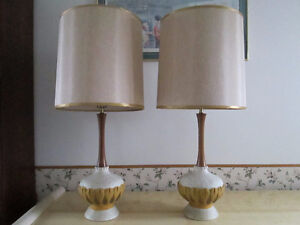 1970 table lamps