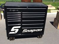 "Coffre Snap-On noir 20""X40"""