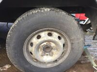 Iveco daily wheel n tyres £30 each
