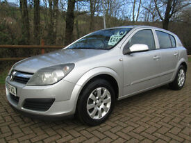 06/56 VAUXHALL ASTRA 1.6 CLUB TWINPORT 5DR HATCH IN MET SILVER