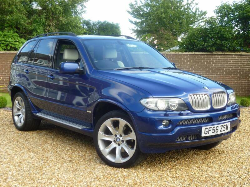 2006 56, BMW X5 3.0d auto Le Mans Blue Sport Edition ++ FND ANOTHER LIKE THIS!!