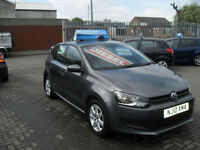 Volkswagen Polo 1.6TDI ( 75ps ) 2010 SE, CHEAP TA ONLY £30 PER YEAR