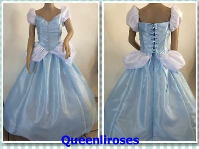 Cinderella Ball Gown Dress Deluxe, Adult - Large/XL, 40 - 42