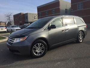 2011 Honda Odyssey EXL RES**TV DVD**CUIR Fourgonnette, fourgon