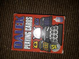 Dalek Playing Cards