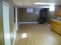 2 bedroom basement apartment