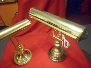SOLID BRASS PIANO  or  DESK LAMP,  A - 1!