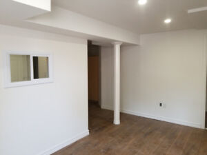 2 Bedrooms walkout basement apartment on rent- Available Sept.1