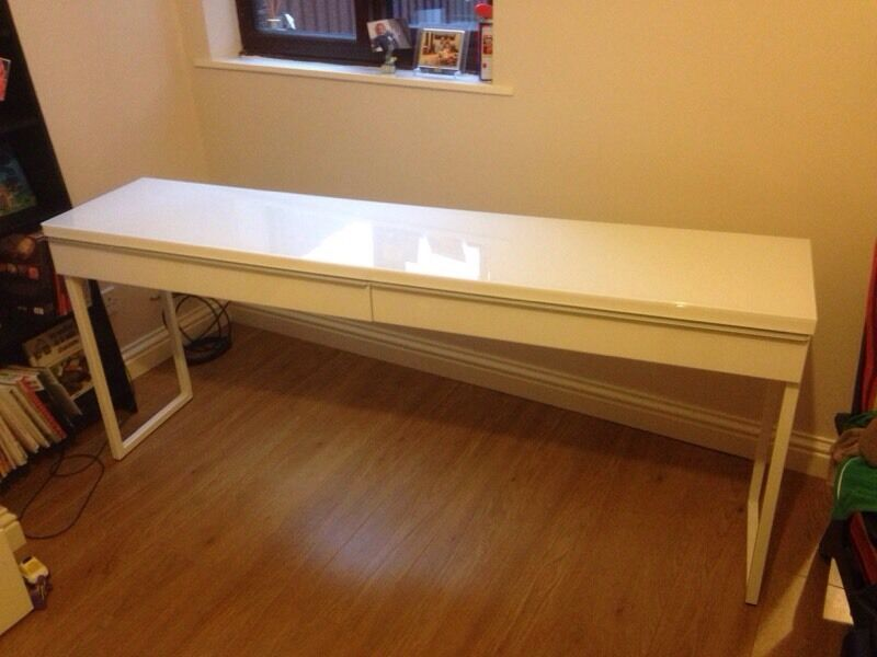 Ikea besta burs desk cm in hinckley leicestershire gumtree