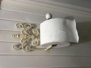 Support a papier de toilette antique