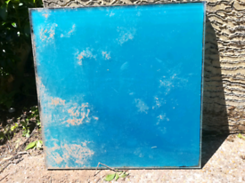 Blue Glass Outdoor paving slabs tiles 4pcs 60cm x60cm