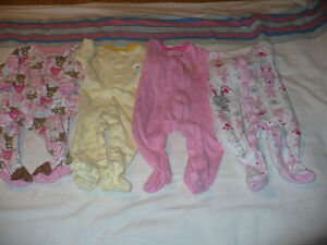 Little Girls Sleepers Size 6 Months London Ontario image 1