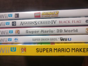 Wii U Games for Sale - Individually Sold or Bundled Together