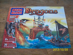 Mega blocks 9807, Dragons