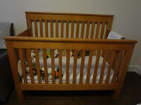 Maple Mother Hubbard Cupboards Crib - Perfect Condtion