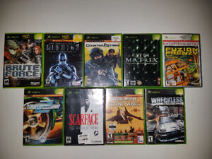 9 Original XBOX Games
