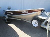 2000 Misty River 14ft w/ 15HP