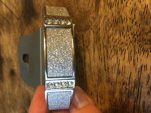 New silver bracelet