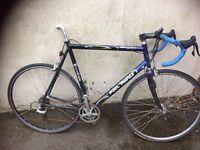 Paul Milnes pro team racing bike