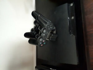 ps3 2  controls and docking station