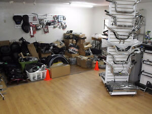 Huge selection of used Harley-Davidson parts and accessories