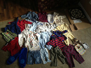 Bag of Various Size's baby boy clothing