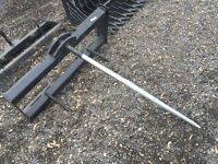 Bale Spear for Skid Steer or Tractor