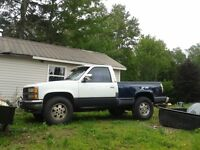 1989 Chevy Silverado, 4 wheel drive truck for sale