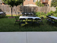 The Main Event: Folding Tables & Chairs