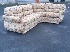 Static Caravan Corner Group Sofa Bed 🤩excellent condition